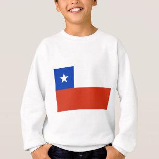 Chile-Flaggen-Ebene Sweatshirt