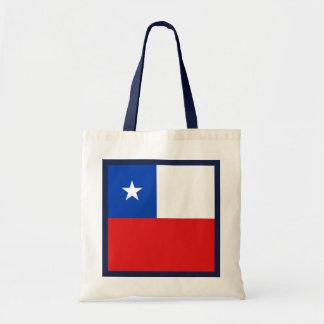 Chile-Flaggen-Tasche Tragetasche