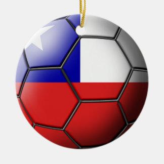 Chile-Fußball-Verzierung Keramik Ornament
