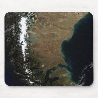 Chile und die Patagonian Region von Argentinien Mousepad