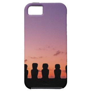 Chile-Zahlen im Sonnenuntergang Schutzhülle Fürs iPhone 5
