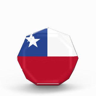 Chileflagge Auszeichnung