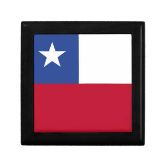 Chileflagge Erinnerungskiste