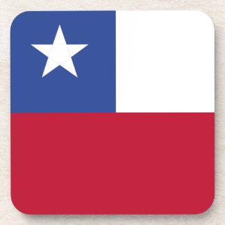 Chileflagge Getränkeuntersetzer