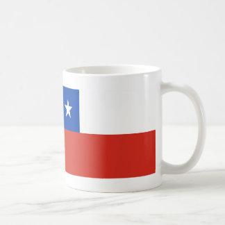Chileflagge Kaffeetasse