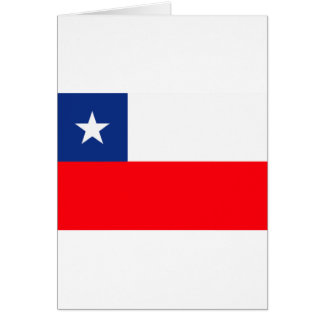 Chileflagge Karte