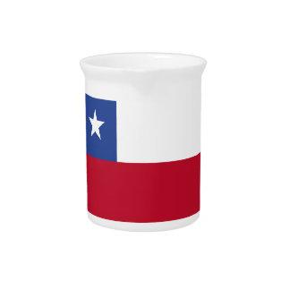 Chileflagge Krug