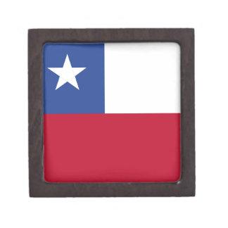 Chileflagge Schachtel