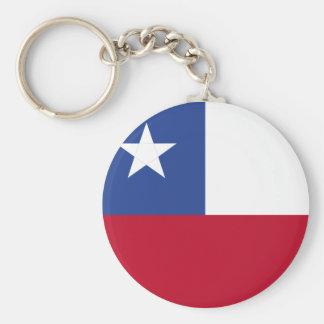 Chileflagge Schlüsselanhänger
