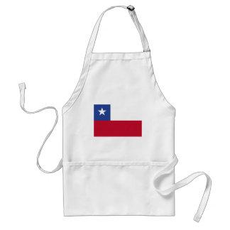 Chileflagge Schürze