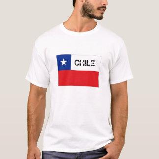 Chileflaggen-Andenkent-shirt T-Shirt