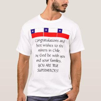 CHILENISCHE BERGMÄNNER WERDEN GERETTET T-Shirt