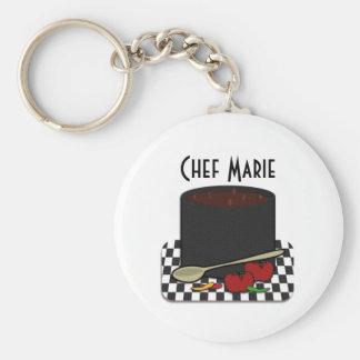 Chili Cookin Keychain Standard Runder Schlüsselanhänger