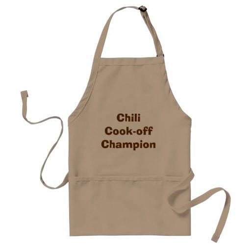Chili Koch-weg Meister-Schürze