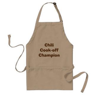 Chili Koch-weg Meister-Schürze Schürze