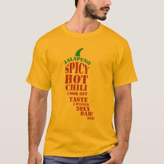 Chili-Koch weg vom Wettbewerb T-Shirt