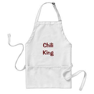 Chili-König Schürze