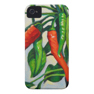 Chili-Paprikaschoten iPhone 4 Cover