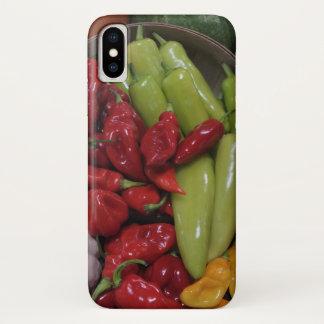 Chili-Paprikaschoten iPhone X Hülle