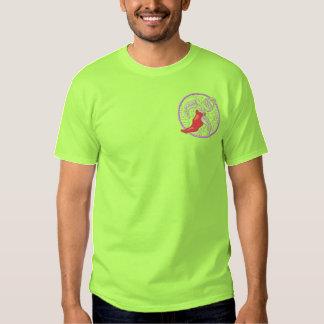 Chili-Pfeffer Besticktes T-Shirt