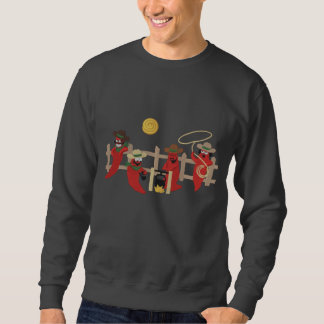Chili-Pfeffer-Cowboys Sweatshirt