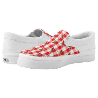 Chili-Pfeffer-Gingham Slip-On Sneaker