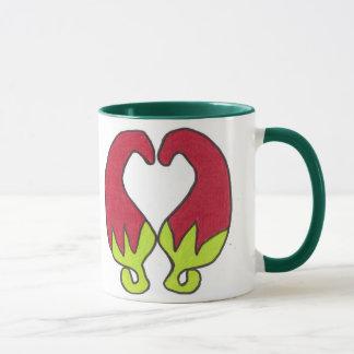 Chili-Pfeffer-Liebe Tasse