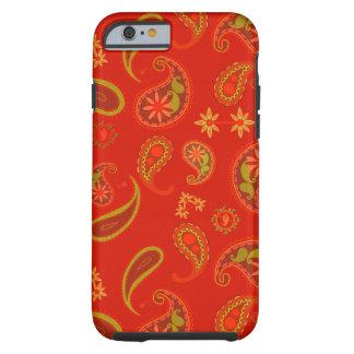 Chili-Pfeffer-rotes und Limones grünes Tough iPhone 6 Hülle