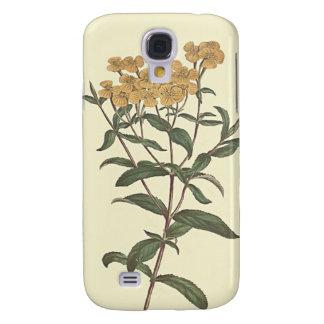 Chili-Ringelblumen-botanische Illustration Galaxy S4 Hülle
