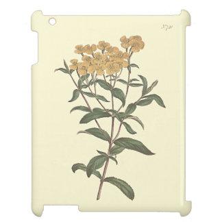 Chili-Ringelblumen-botanische Illustration iPad Hülle