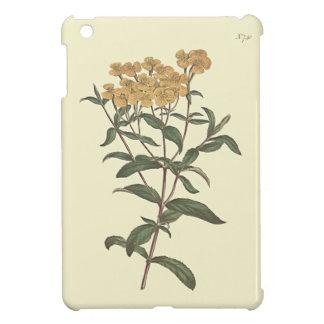 Chili-Ringelblumen-botanische Illustration iPad Mini Hülle