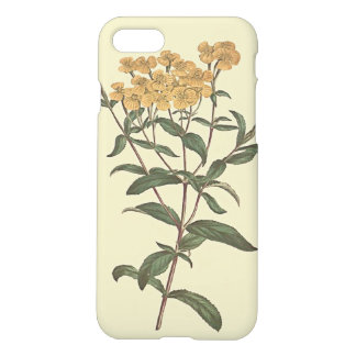 Chili-Ringelblumen-botanische Illustration iPhone 8/7 Hülle