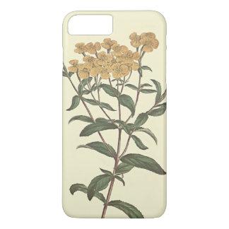 Chili-Ringelblumen-botanische Illustration iPhone 8 Plus/7 Plus Hülle