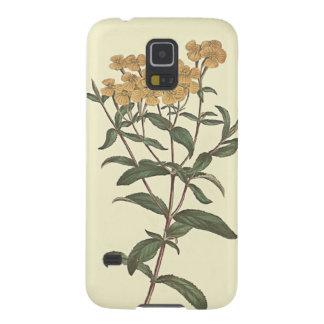 Chili-Ringelblumen-botanische Illustration Samsung S5 Cover