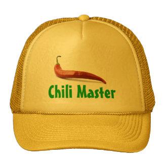 Chili-Vorlagenhut Retrokultkappen