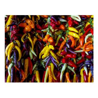 Chilipfeffer Postkarte