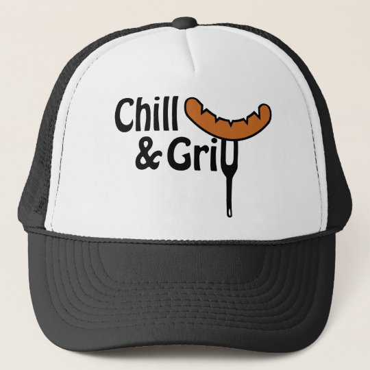 Chill and grill truckerkappe