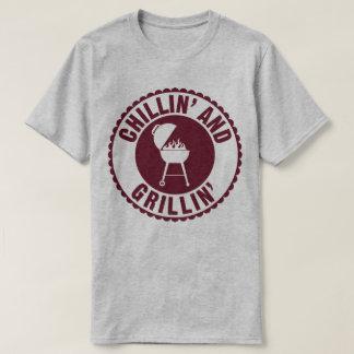 Chillin und Grillin GRILLEN Kochs-Koch-Humor-T - T-shirt