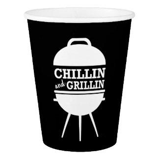 Chillin und Grillin GRILLEN Schalen Pappbecher