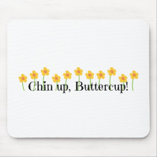 Chin herauf Butterblume Mousepads