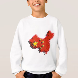 China (3d) sweatshirt