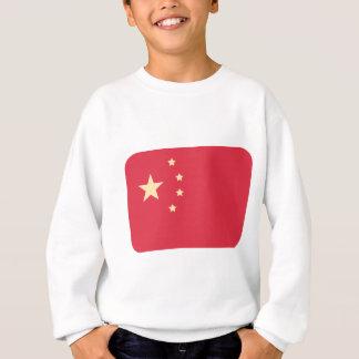 China-Flagge - Emoji Twitter Sweatshirt