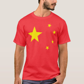 "China-Flagge ""Klassiker "" T-Shirt"
