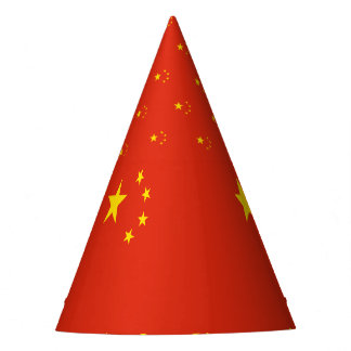 China-Flagge Partyhütchen