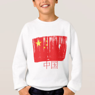China-Flagge Sweatshirt