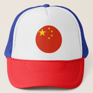 China-Flagge Truckerkappe