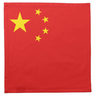 China-Flaggen-Serviette Serviette