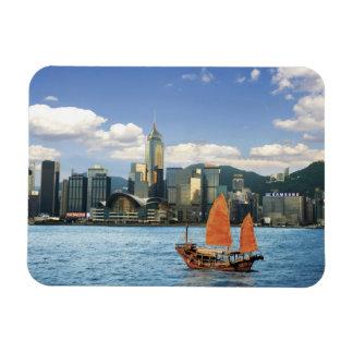 China; Hong Kong; Victoria-Hafen; Hafen; A Eckiger Magnet