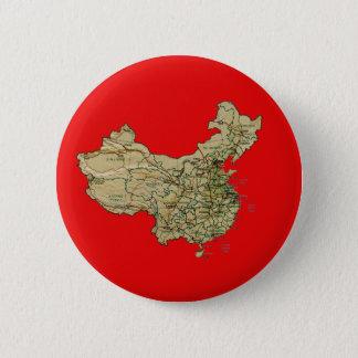 China-Karten-Knopf Runder Button 5,7 Cm