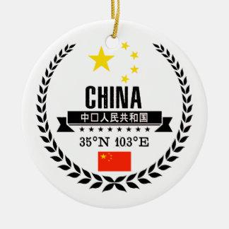 China Keramik Ornament